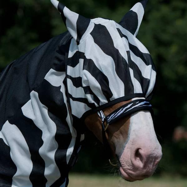 Bilde av Bucas fluemaske Zebra